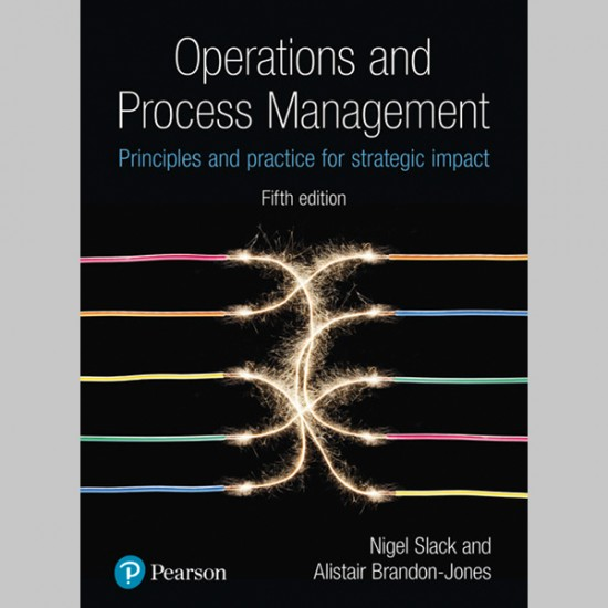 Operations and Process Management (ISBN: 9781292176130)