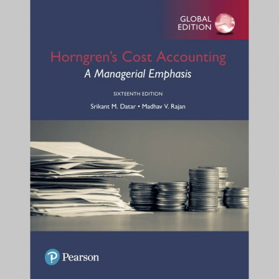 Horngren's Cost Accounting: A Managerial Emphasis, Global Edition (ISBN: 9781292211541)