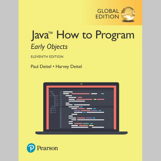 Java How to Program, Early Objects, Global Edition (ISBN: 9781292223858)