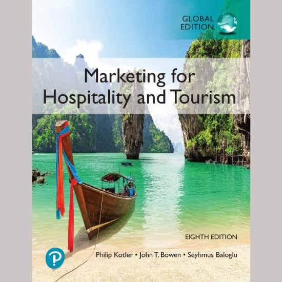 Marketing for Hospitality and Tourism 8th edition (ISBN:9781292363516)