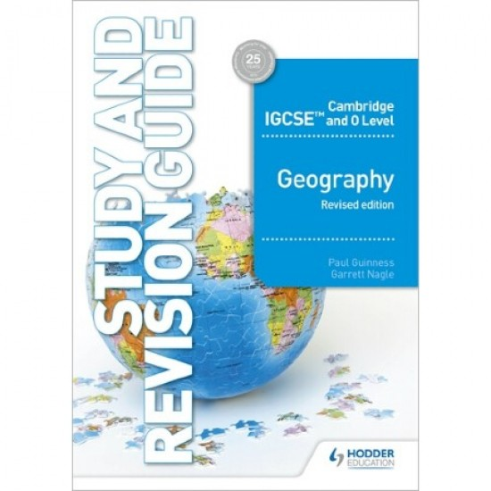 Cambridge IGCSE and O Level Geography Study and Revision Guide revised edition (ISBN: 9781510421394)