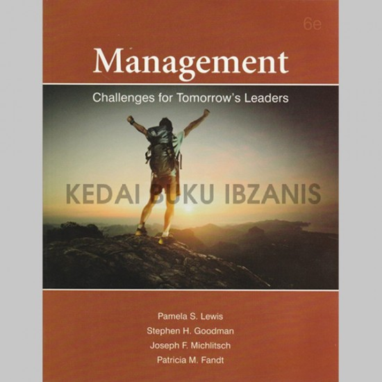 Management Challenges for Tomorrow's Leaders (ISBN: 9789671344026)