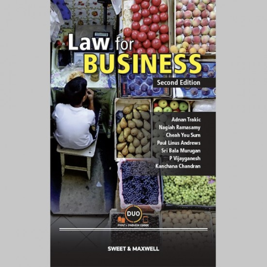 Law for Business, Second Edition (ISBN: 9789672049845)