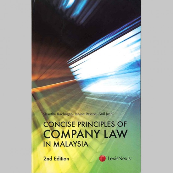 Concise Principles of Company Law in Malaysia, 2nd Edition (ISBN: 9789675371684)