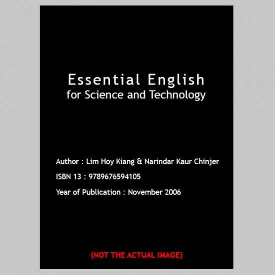 Essential English for Science and Technology (ISBN: 9789676594105)