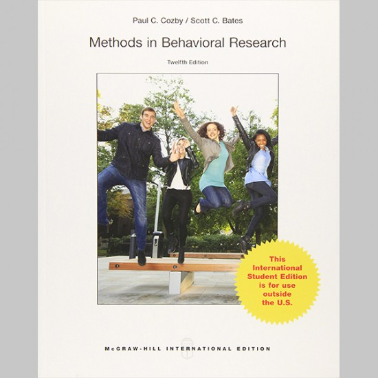 Methods in Behavioral Research (ISBN: 9789814577090)