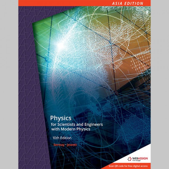 AE Physics for Scientists and Engineers with Modern Physics 10th Edition (ISBN: 9789814834308)