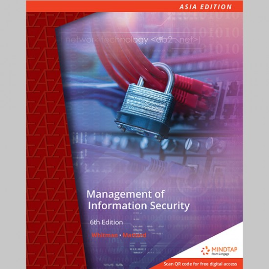 Management of Information Security 6th Edition (ISBN: 9789814834735)