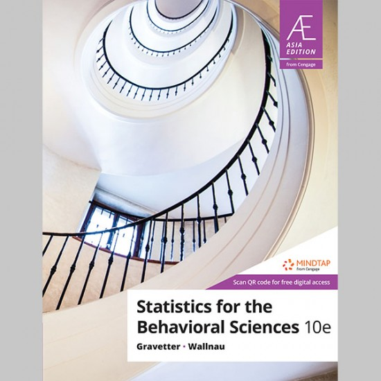 AE Statistics for The Behavioral Sciences 10th Edition (ISBN: 9789814844710)