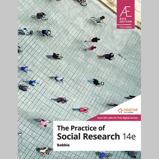 AE The Practice of Social Research 14th Edition (ISBN: 9789814844727)