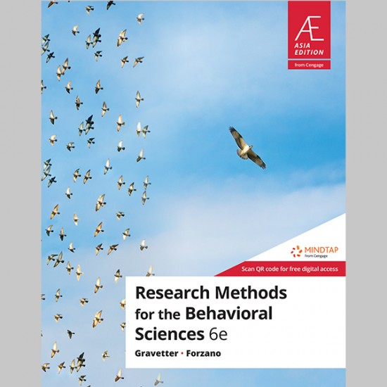 AE Research Methods For The Behavioral Sciences 6th Edition (ISBN: 9789814846370)