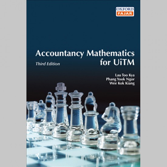 Accountancy Mathematics for UiTM Third Edition (ISBN: 9789834505080)