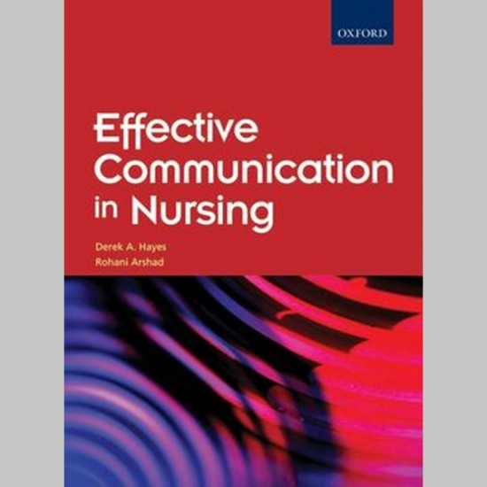 Effective Communication in Nursing (ISBN: 9789834509750)