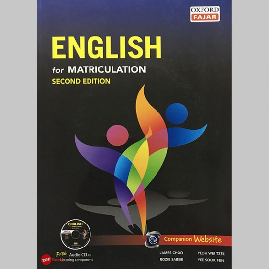 English For Matriculation Second Edition (ISBN: 9789834710729)