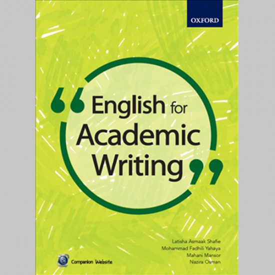 English for Academic Writing (ISBN: 9789834719180)