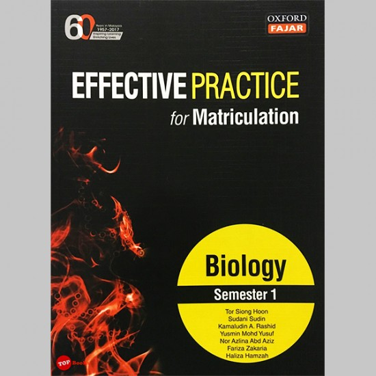 Effective Practice for Matriculation Biology Semester 1 (ISBN: 9789834721794)