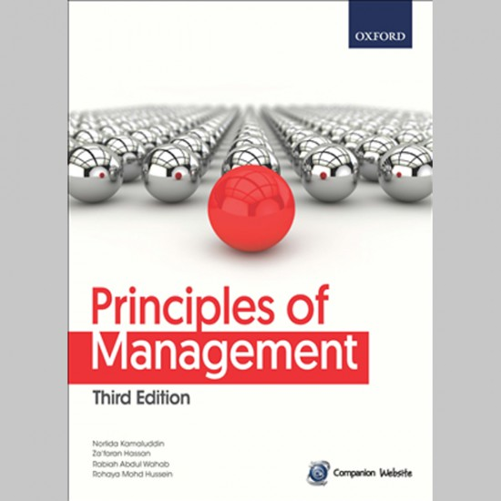 Principles of Management Third Edition (ISBN: 9789834726225)