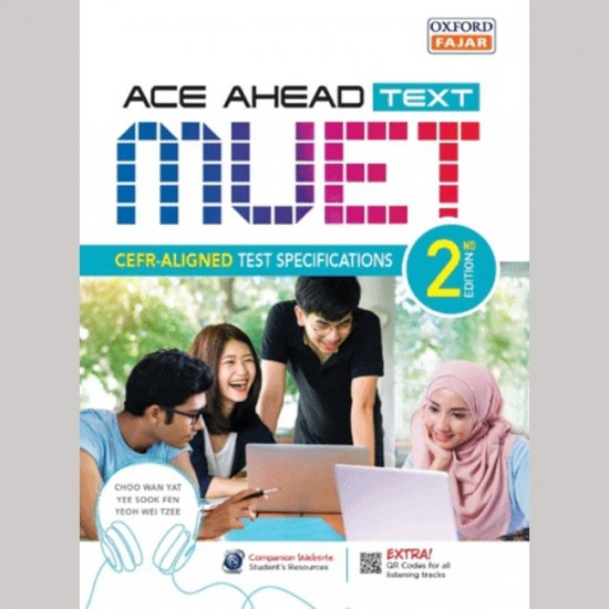 ACE AHEAD MUET TEXT - UP 2021 VER (CEFR-ALIGNED TEST SPEC) (ISBN:9789834732783)