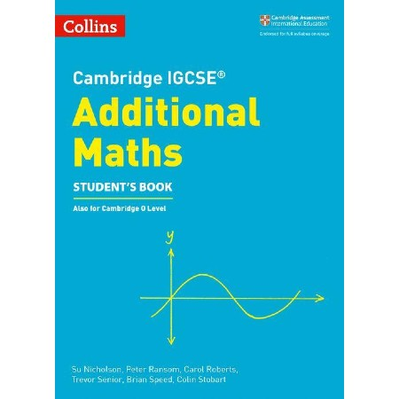 Collins Cambridge IGCSE Additional Maths Student's Book (ISBN: 9780008257828)