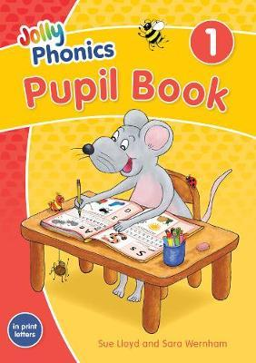 NEW JOLLY PHONICS PUPIL BOOK 1 IN PRINT LETTERS (BRITISH ENGLISH VERSION) (ISBN:9781844147199)