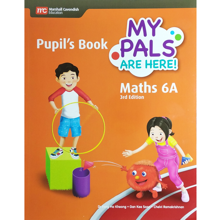 My Pals are Here! Maths (3rd Edition) Pupil\'s Book 6A (Print plus E-Book) (ISBN: 9789813168787)
