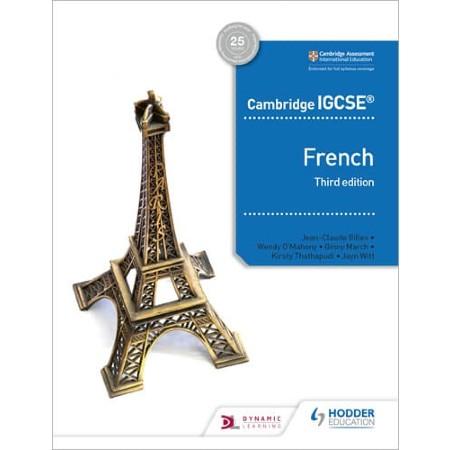 Cambridge IGCSE™ French Student Book Third Edition (ISBN: 9781510447554)