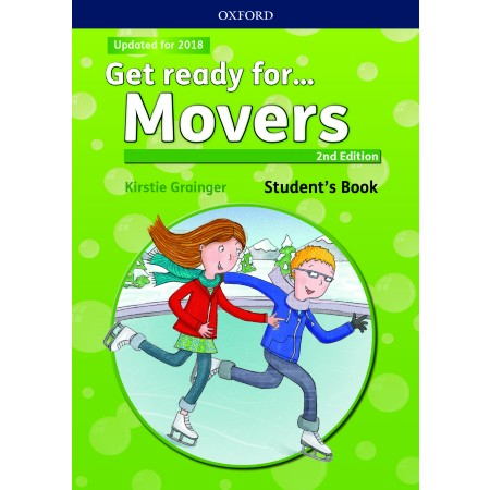 Get ready for. Movers Student\'s Book with downloadable audio (ISBN: 9780194029483)