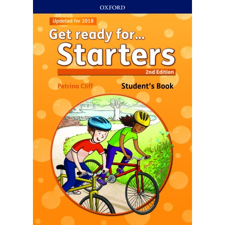 Get ready for. Starters Student\'s Book with downloadable audio (ISBN: 9780194029452)