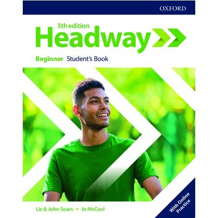 Headway Beginner Student\'s Book with Online Practice (ISBN: 9780194523929)