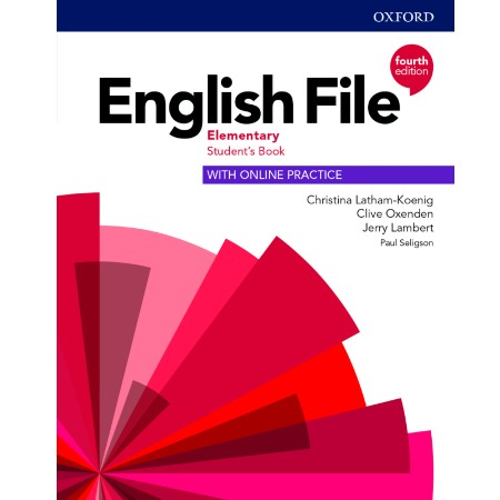 English File Elementary Student\'s Book with Online Practice (ISBN: 9780194031592)