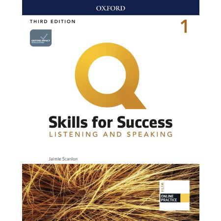 Q: Skills for Success Level 1 Listening and Speaking Student Book with iQ Online Practice (ISBN: 9780194905138)