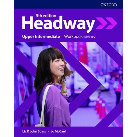 Headway Upper-Intermediate Workbook with key (ISBN: 9780194547604)