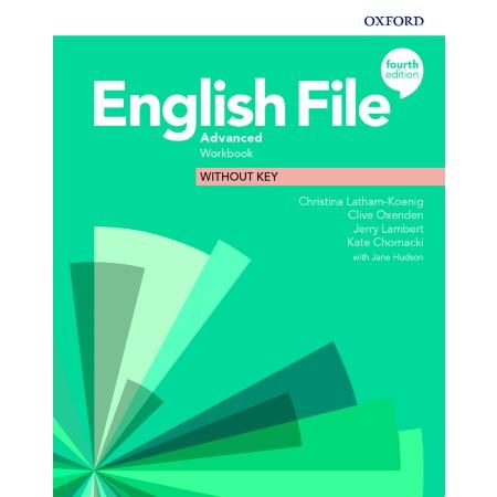English File Advanced Workbook without Key (ISBN: 9780194038553)