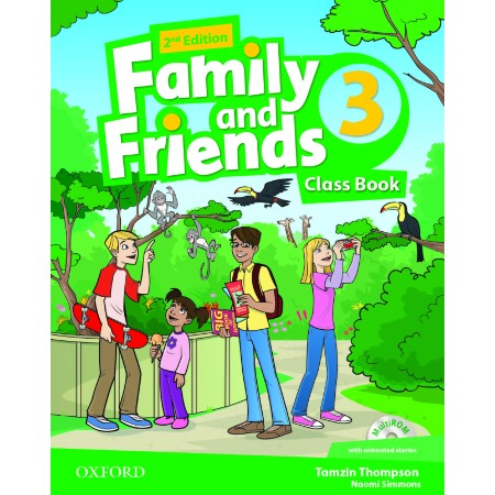 Family and Friends: Level 3: Class Book with Student MultiROM (ISBN: 9780194808316)