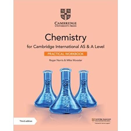 Cambridge International AS & A Level Chemistry Practical Workbook (ISBN: 9781108799546)
