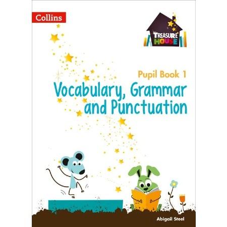 Collin Treasure House Vocab,Grammar & Punct Pupil Bk 1 (ISBN: 9780008133368)