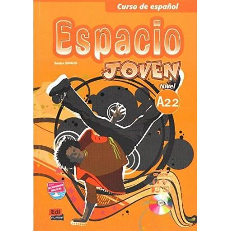 Espacio Joven Nivel A2.2 Textbook (ISBN: 9788498483451)