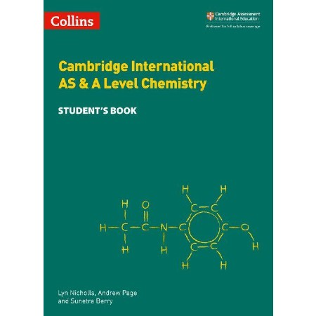 Cambridge International AS & A Level Chemistry Student\'s Book (ISBN: 9780008322588)