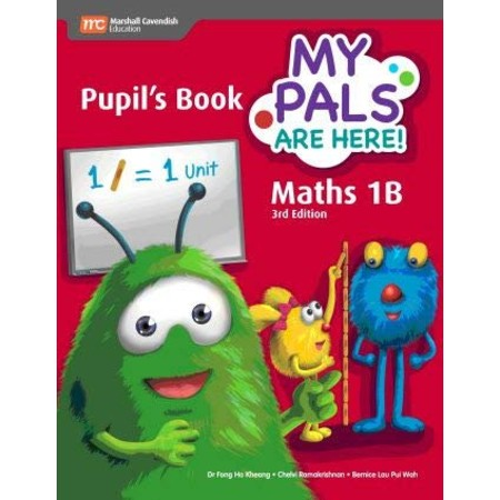 My Pals are Here! Maths Pupil\'s Book 1B (ISBN: 9789810117597)