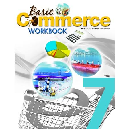 Basic Commerce Year 7 Workbook (ISBN: 9789814268196)