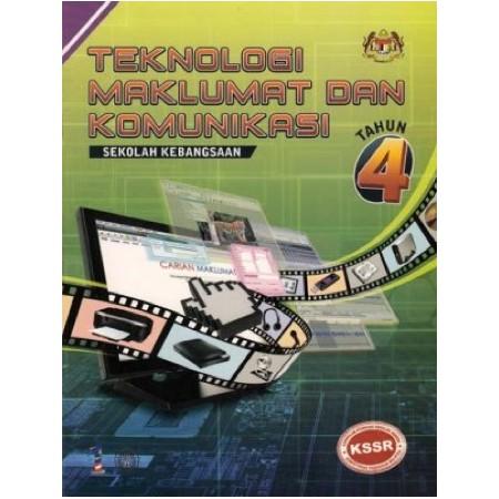 Buku Teks Teknologi Maklumat dan Komunikasi Tahun 4 (ISBN: 9789834613044)