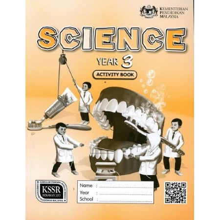 Activity Book Science Year 3-DLP (ISBN: 9789834922160)