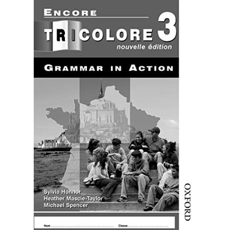 Encore Tricolore Nouvelle 3 Grammar in Action Workbook Pack (ISBN: 9780748795024)