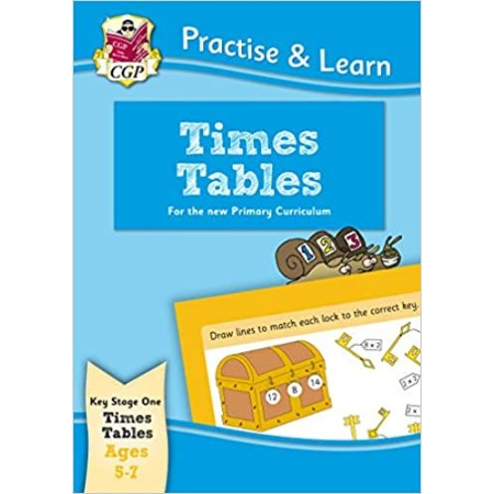 Practice and Learn: Times Tables (Age 5-7) (ISBN: 9781847627445)