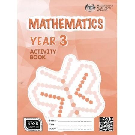 Activity Book Mathematics Year 3-DLP (ISBN: 9789834922191)
