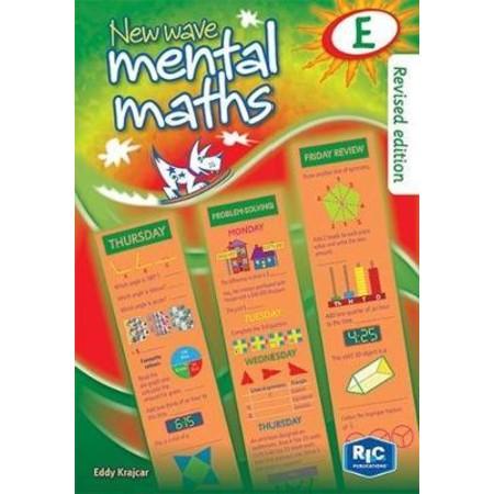 New Wave Mental Maths Book E - Year 5 (ISBN: 9781921750038)