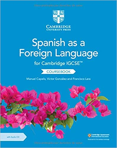 Cambridge IGCSE Spanish as a Foreign Language Coursebook with Audio CD (ISBN:9781108609630)