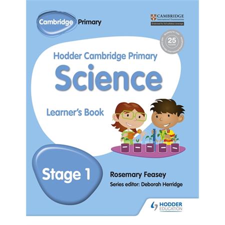 Hodder Cambridge Primary Science Learner\'s Book 1