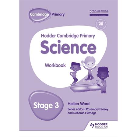 Hodder Cambridge Primary Science Workbook 3 (ISBN:9781471884191)