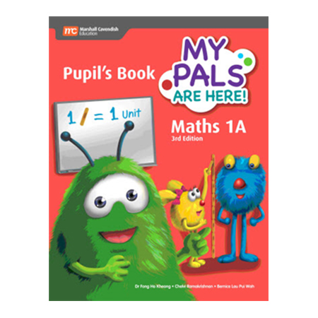 My Pals Are Here! Maths (3rd Edition) Pupil\'s Book 1A (Print plus E-Book) (ISBN: 9789813164154)